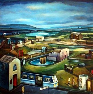 Landscape painting UK