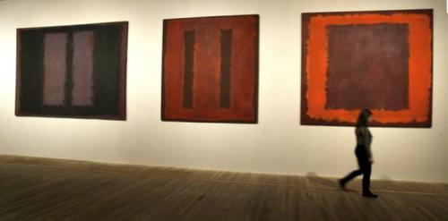 Paintings by artist Mark Rothko - Seagram Murals