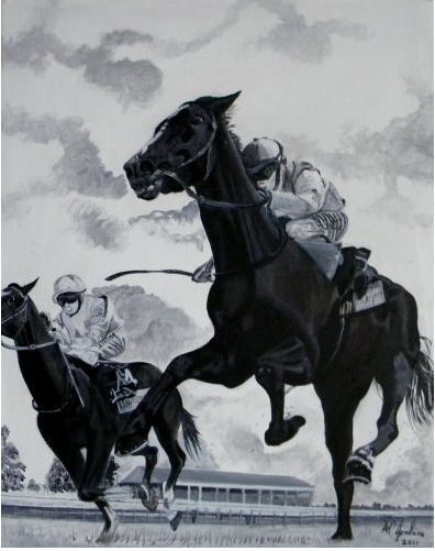 Racers by Alice P Jenkins
