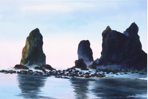 Oregon Coast by Silvie Tupa
