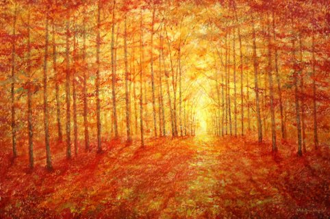 Autumn Clearing by Stella Dunkley