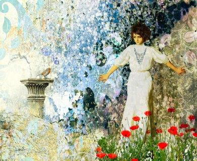 In the Garden by Van Renselar