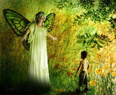 The Lady of the Meadow by Van Renselar