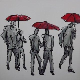 London Rain by Keith McBride