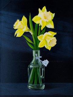 Spring Daffodils by David Fright