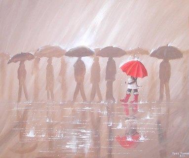 Umbrellas by Pete Rumney
