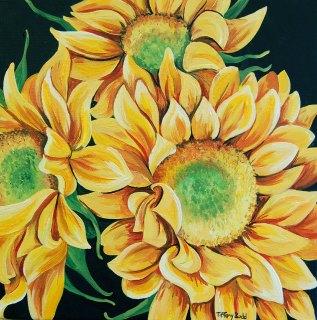 Sunflower Bouquet by Tiffany Budd