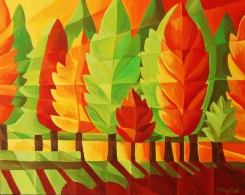 Autumn Tree Leaves by Tiffany Budd