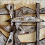 Abstract Construction N'3 by Amanda J Aspinall