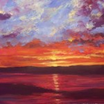 Highland Sunset by Wendy Puerto