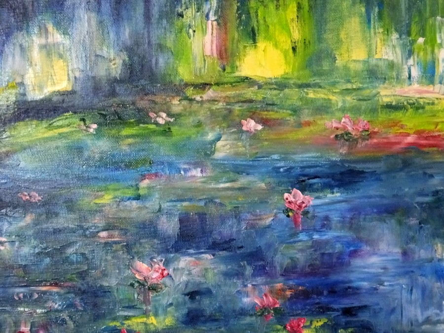 Ode to Monet by Hester Coetzee
