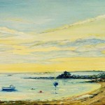 Sunset on Scilly by Heatherbell Barlow