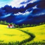 Yellow Fields by Yulia Allan