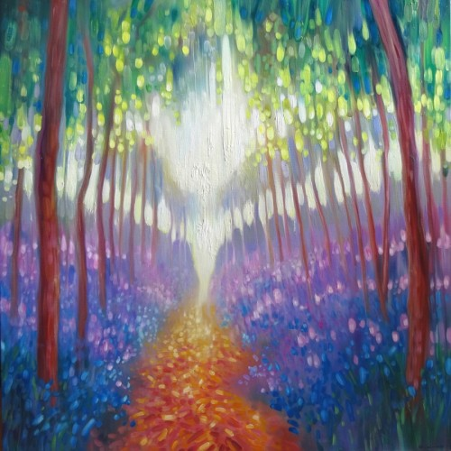 Path To Somewhere Wonderful by Gill Bustamante