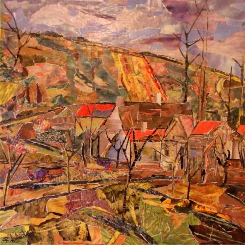 VILLAGE LANDSCAPE by Robert Andler-Lipski