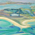 Flying over Tresco, Scilly by Heatherbell Barlow