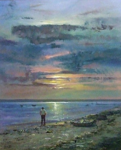 Late Afternoon at the Fleet by Martin J Leighton