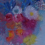 Spring Blooms by Lesley Blackburn