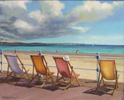 The Seafront by Martin J Leighton