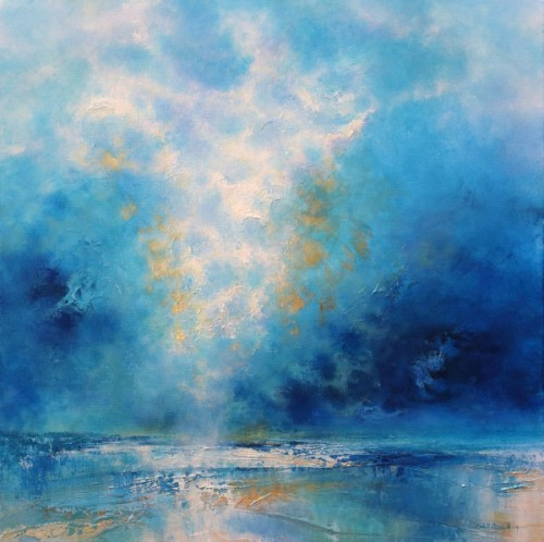 Turquoise Shore II by Stella Dunkley