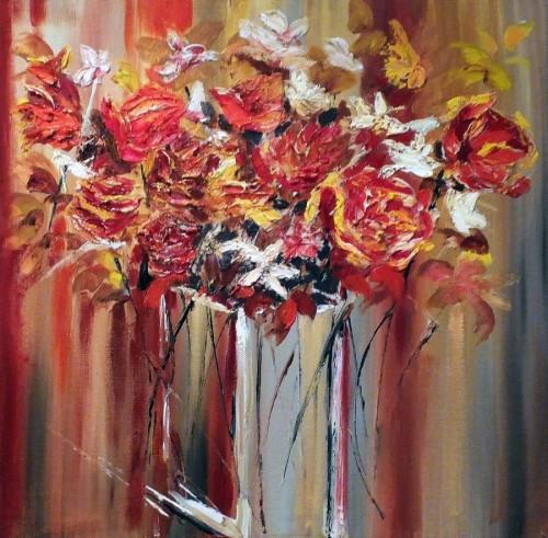 Roses & Daisies by Elizabeth Williams