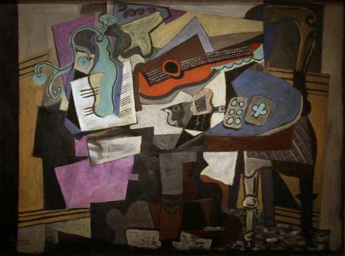 Still Life 1918 by Pablo Picasso (Found through creative commons)