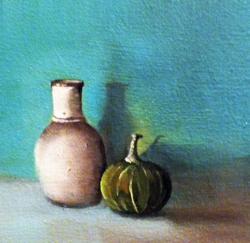 The Pumpkin and Pitcher by Elizabeth Williams