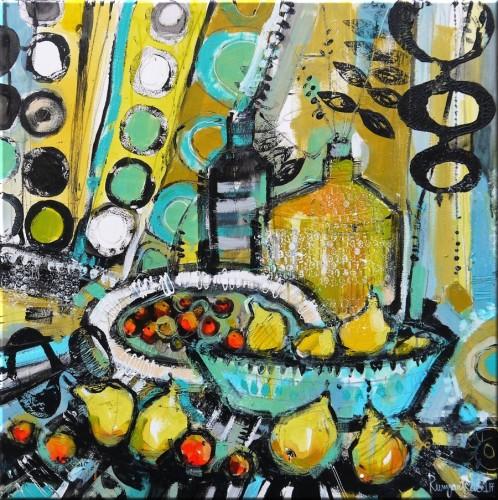 Fruit Table 4 by Irina Rumyantseva