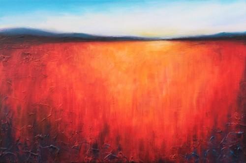 Distant hills by Jane Palmer
