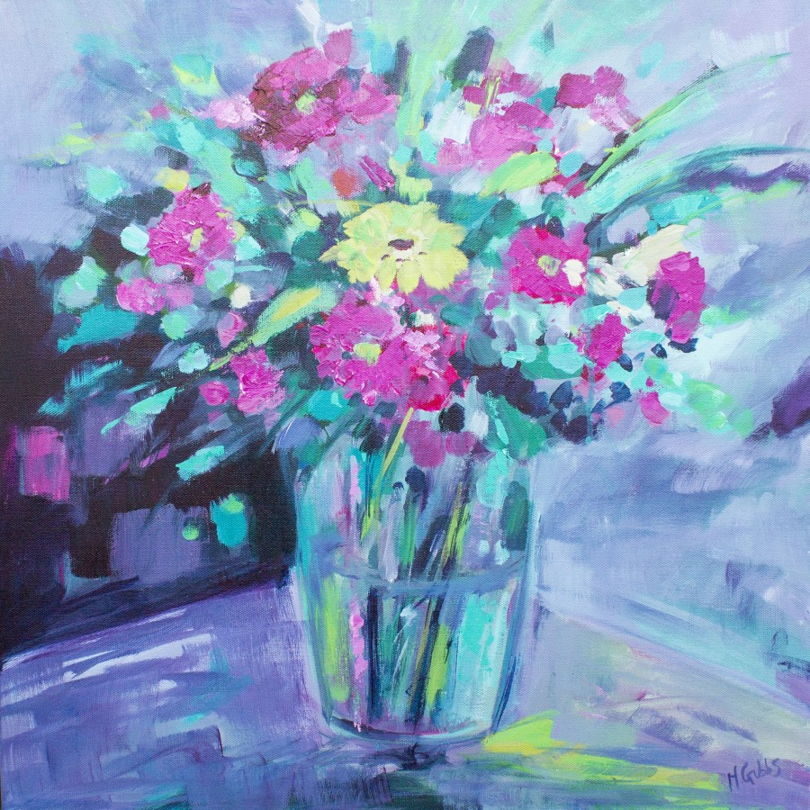 Beautiful Flowers by Michelle Gibbs