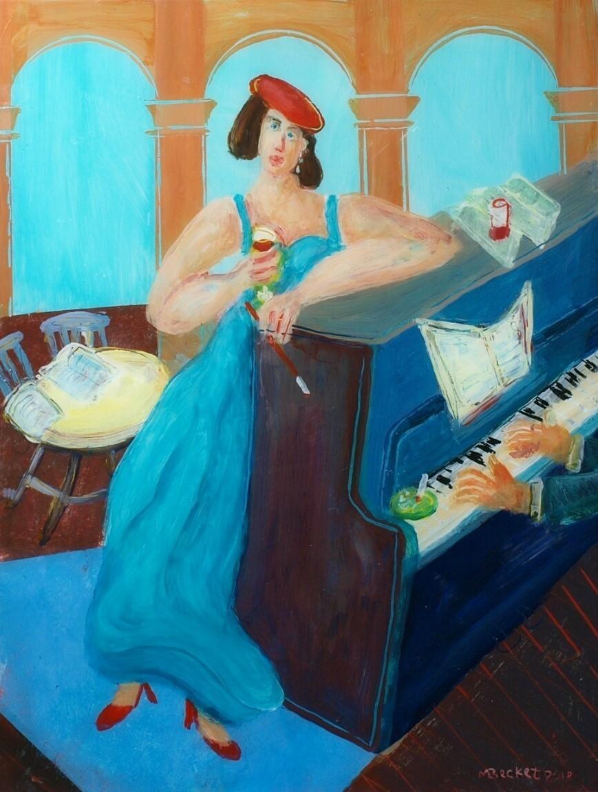 The Opera Singer Artist: Mike Becket