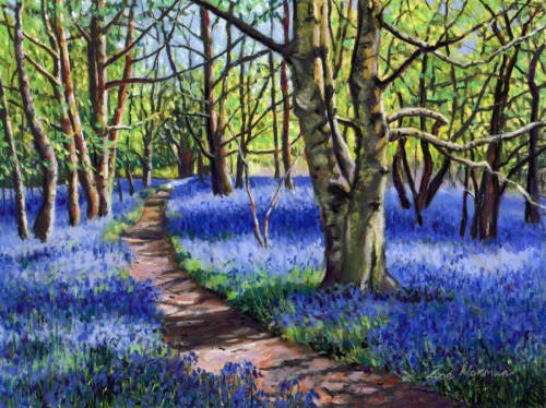 Bluebell Haze by Zoe Elizabeth Norman