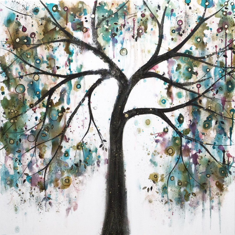 Tree of Joy and Love by Carol Ann Wood