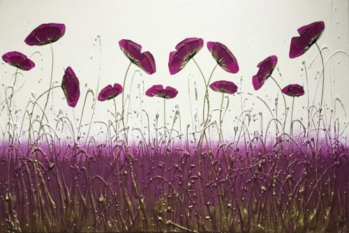 Jewel Flowers by CK Wood