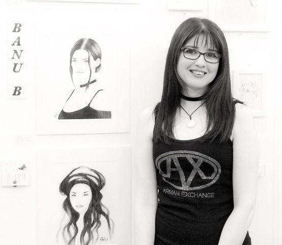 Art2Arts artist Banu Beyza