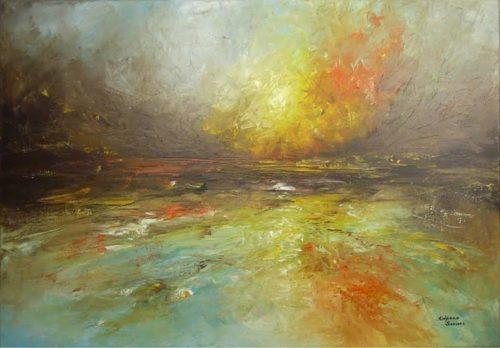 Lively Shore by Kalpana Soanes