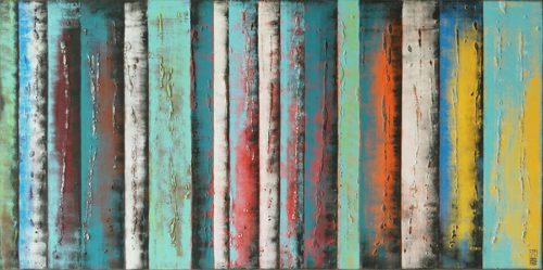 Yellow Panels XL by Ronald Hunter