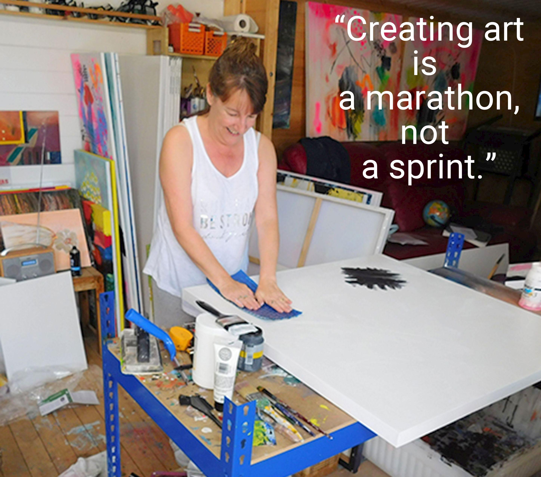 Art2Arts Artist Susan wooler