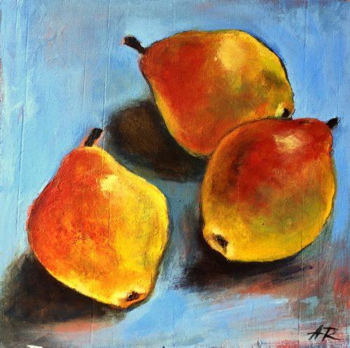 Organic Pears by Alena Rumak