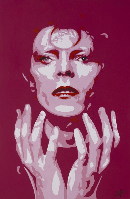 Bowie - Ziggy by Stephen Quick