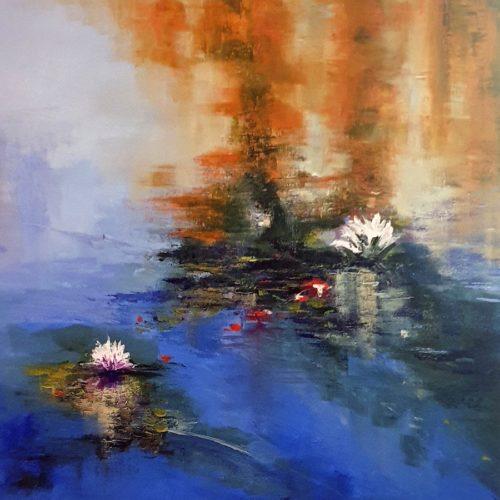 On Floating Pond by Elizabeth Williams