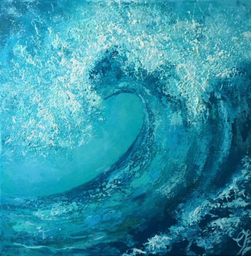 Wave Study no2 by Colette Baumback