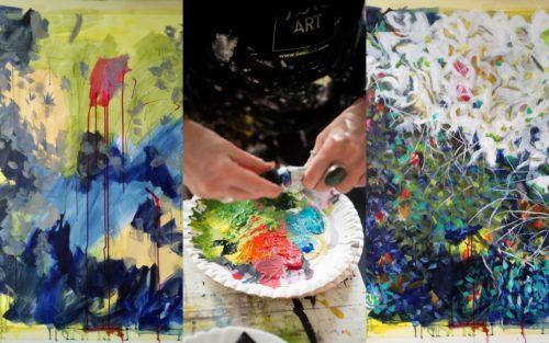 Art2Arts Artist Karin Goeppert - WIP