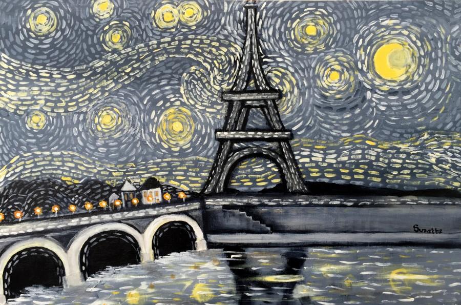 Vincent's Paris by Suzette Datema