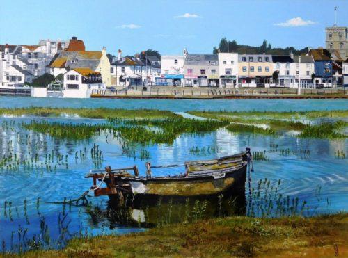 High Tide and Riverside by Paula Oakley