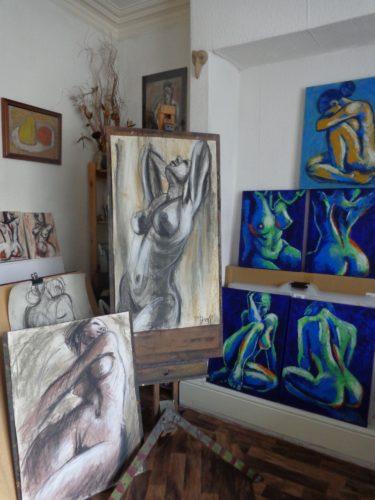 Carmen Tyrrell's studio