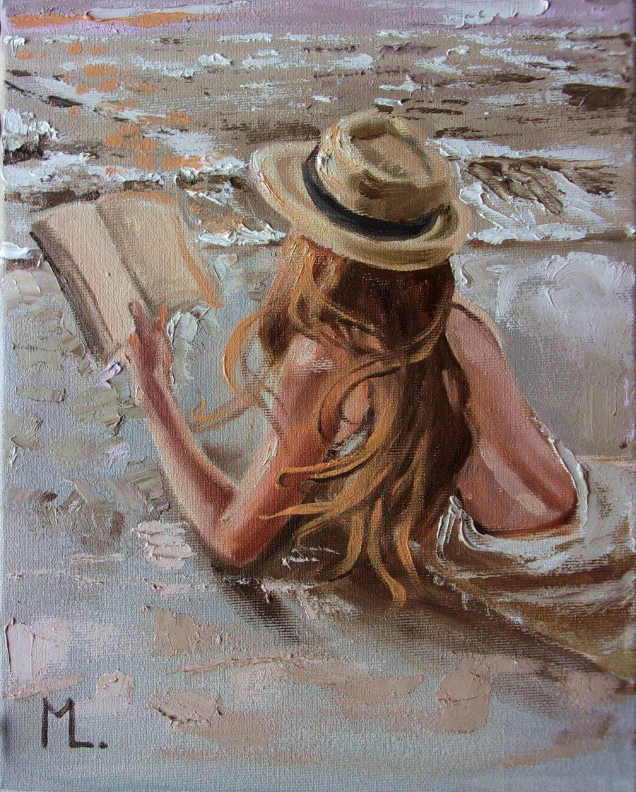 Book Lover by Monika Lunia