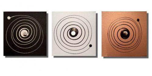 Copper Trio by Lisa Vallo