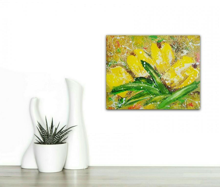 Yellow Tulips by Cinzia Mancini