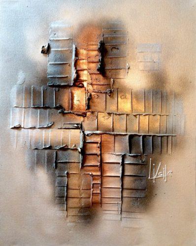 Metallic Haze by Lisa Vallo